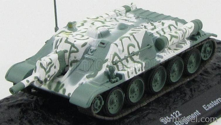 su-122 1443RD Self-Propelled Artill VEHICULE MILITAIRE 1//72 R/éf A34