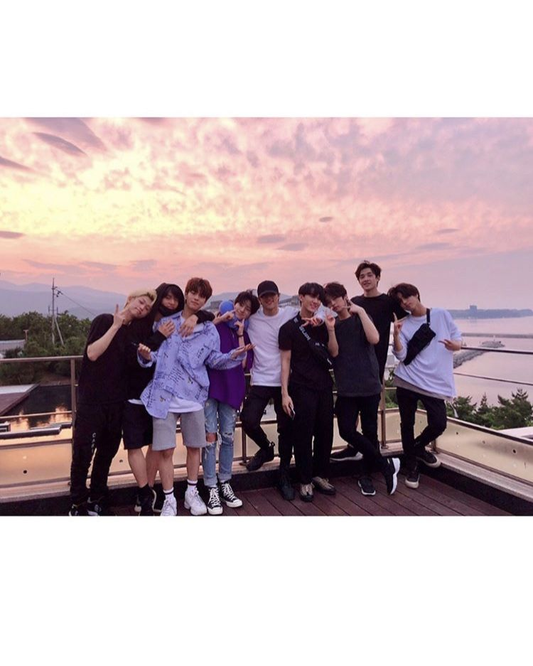 Stray Kids via Instagram 020718