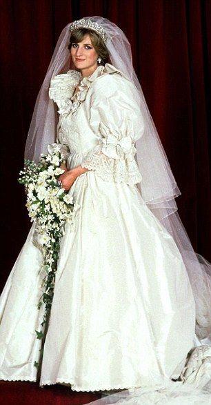 Lady Diana wedding bouquet