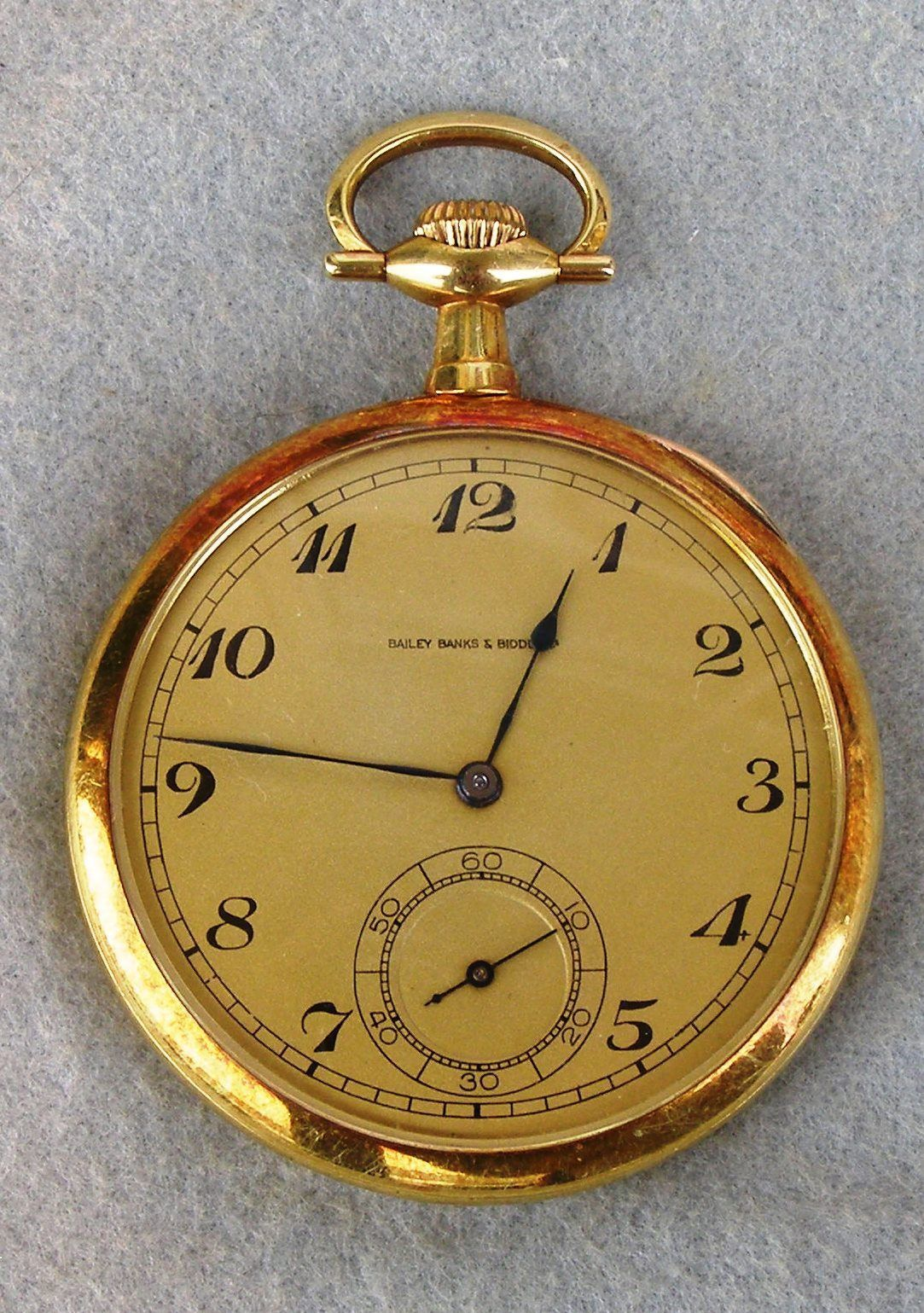 dac684b7a1e 18K Gold Pocket Watch Presented to J J McDermott for Winning The 1911 US  Open