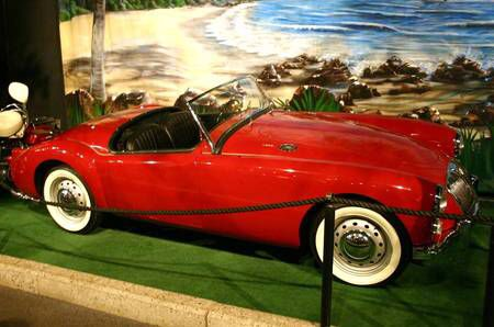 Elvis' MGA from Blue Hawaii