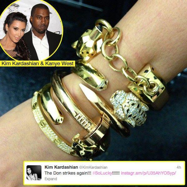Celebrities Wearing Cartier Love Bracelet