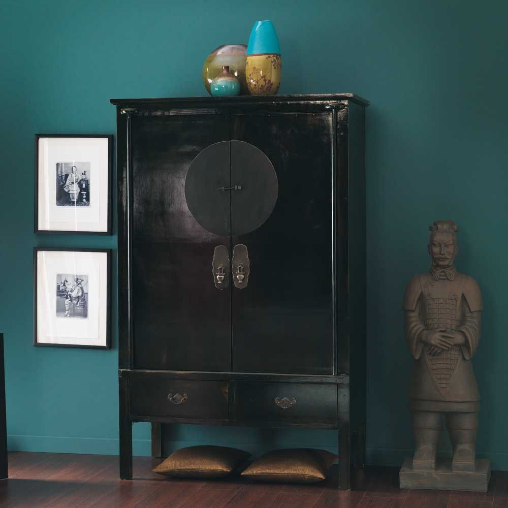 armoire noire shanghai maisons du monde mdm exotique pinterest armoire noire maison. Black Bedroom Furniture Sets. Home Design Ideas