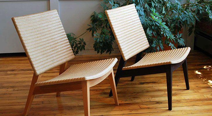 fiber furniture. Natural Fiber Composites From FlexForm Technologies (hemp) And Acrodur Resin (water-based Furniture L