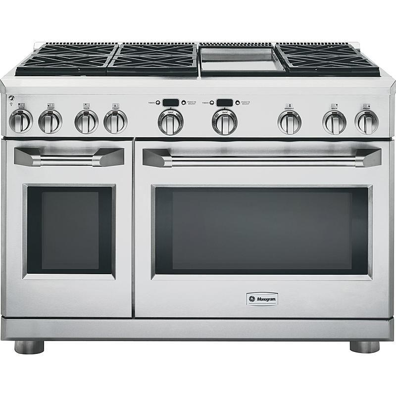 Ge Monogram Zdp486ndpss 48 Dual Fuel Professional Range Sears Outlet
