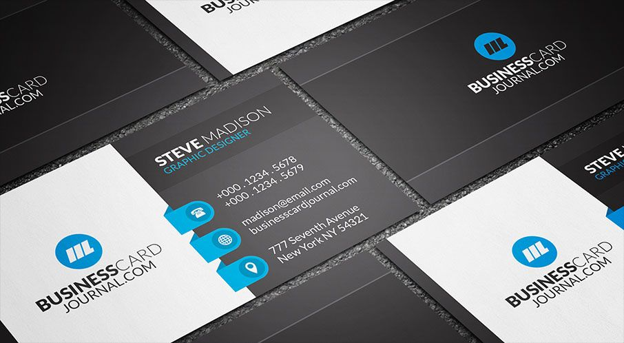 Download httpbusinesscardjournalblue labels corporate a creative corporate design with black and white as the primary colors find this pin and more on free business card templates reheart
