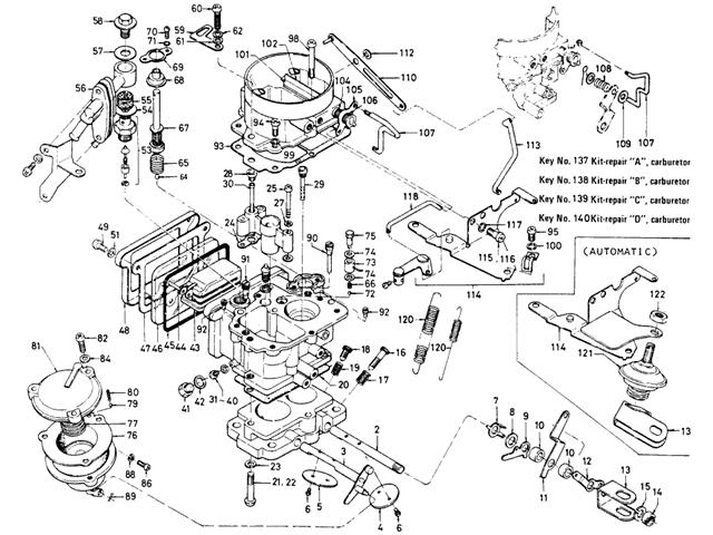Hitachi nissan carburetor #3 | Nissan, Sketches, Diagram on