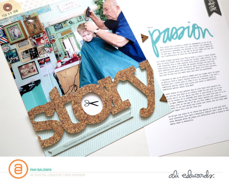 A Story About Passion by PamBaldwin at @studio_calico