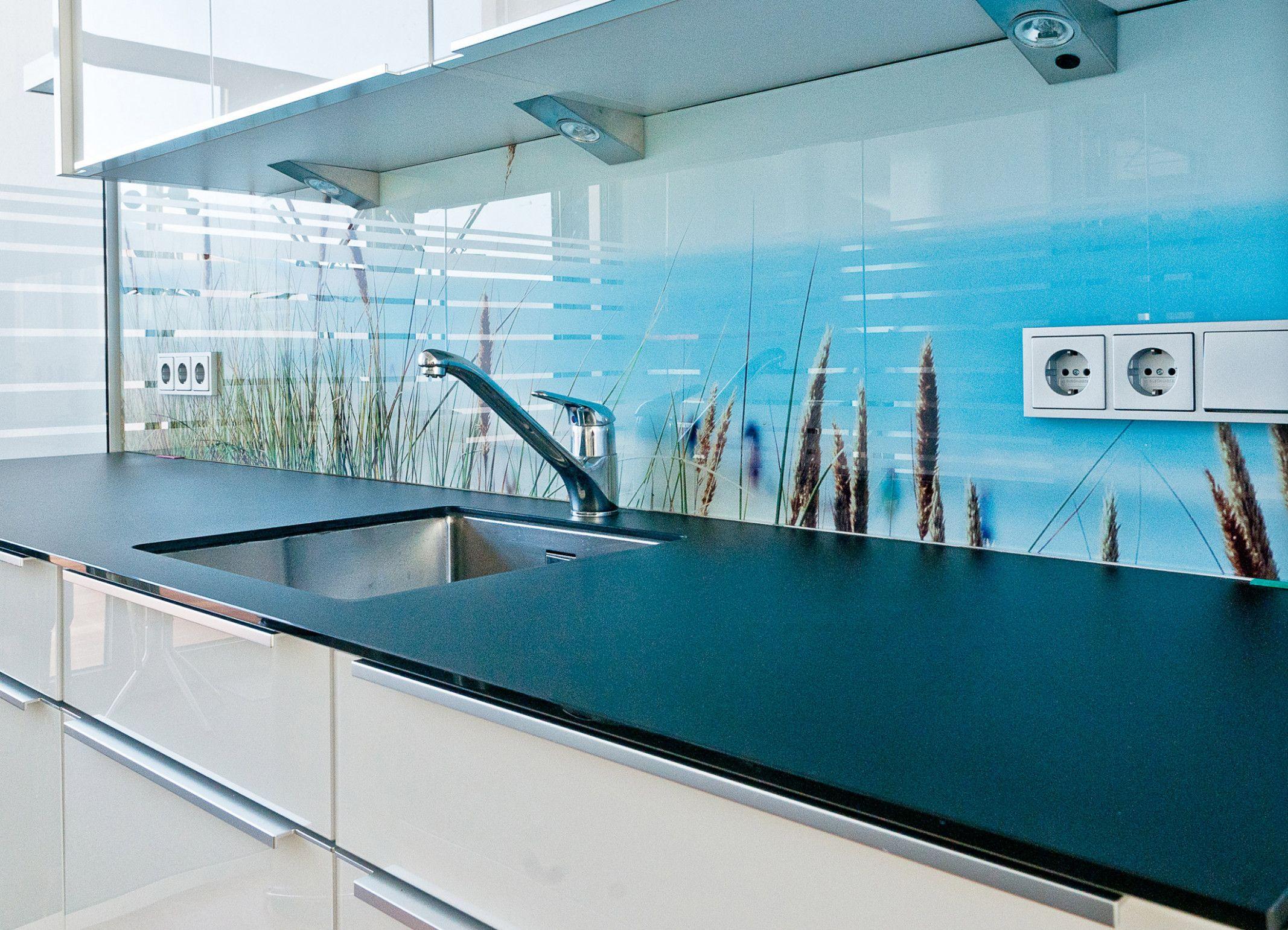 8 Küche Hintergrund Glas  Fliesenspiegel, Küchenspiegel, Küche
