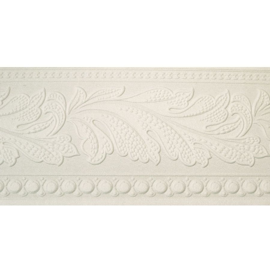 Textured wall border that looks like crown molding home decore design in 2019 lowes - Crown molding wallpaper ...