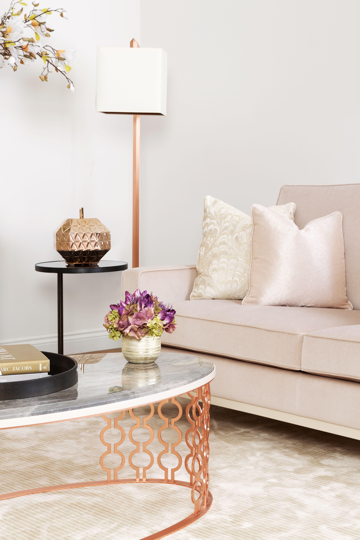 The Sofa & Chair Company - Rose Gold Living | Elegant Interior 1 ...