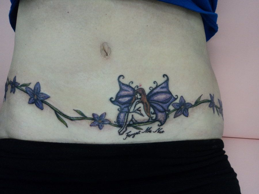 Tummy tuck tattoo cool tattoos pinterest tummy tucks for Tattoos to cover scars on stomach