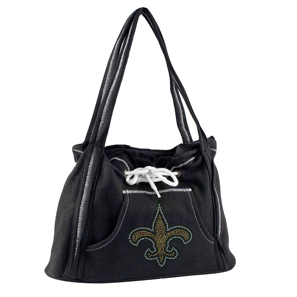 f9fe012c02 New Orleans Saints NFL Sport Noir Hoodie Purse | NFL, Teams | Nfl ...