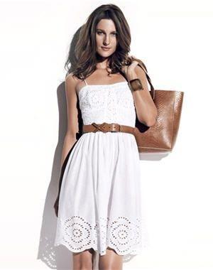 5884cab4dbfda robe  iris  de caroll   Little Black Dress   Robe, Robe blanche ...