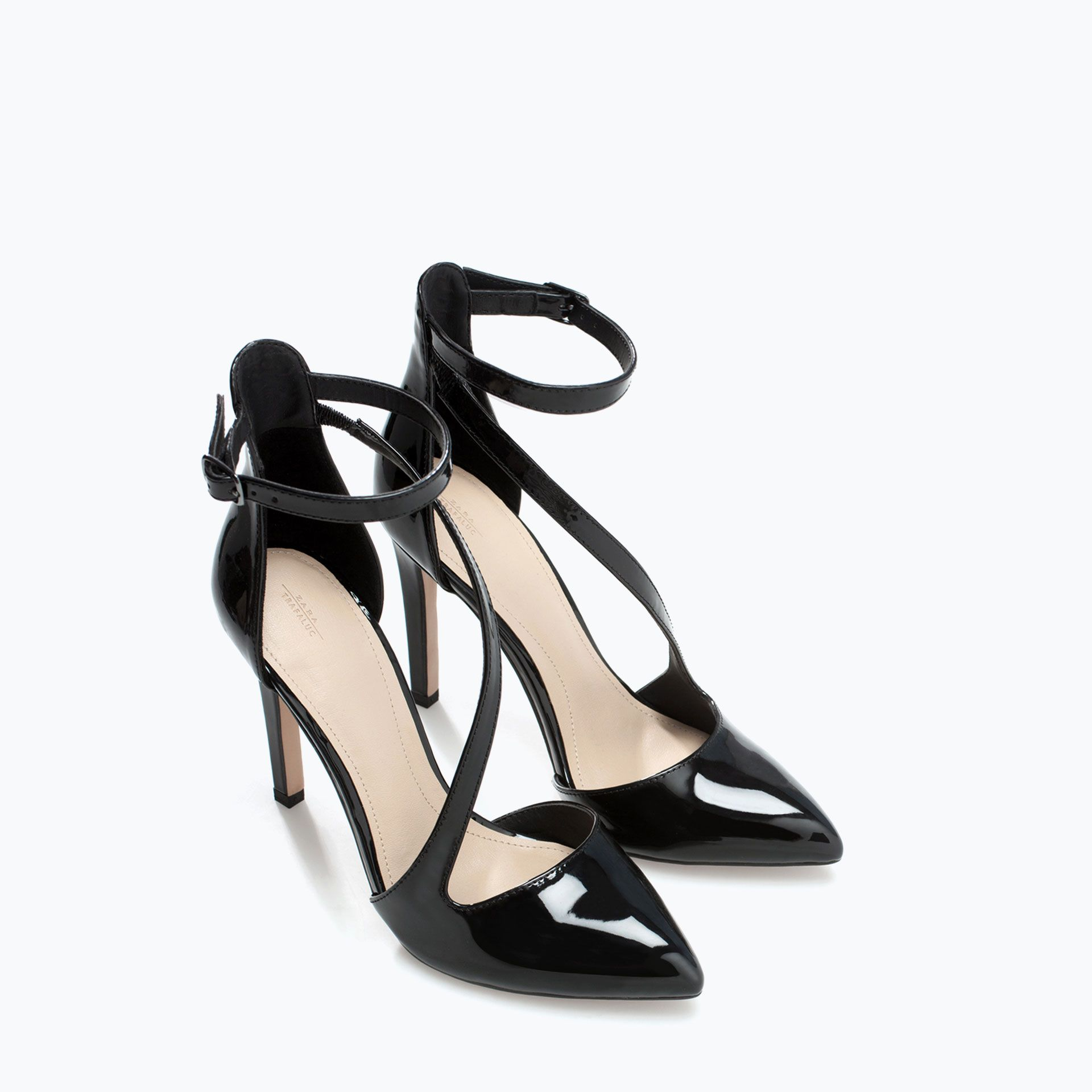 With Bags Strap Style My Asymmetric Shoe Zapatos Zara Court pI15q