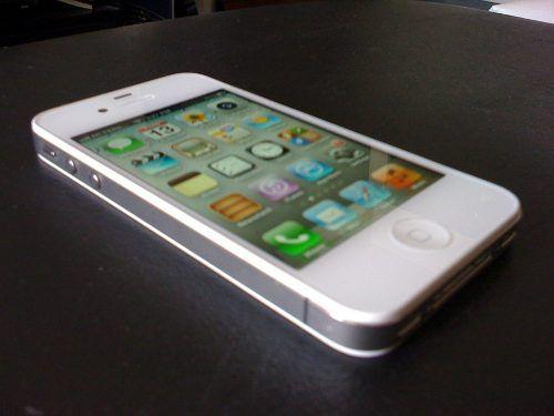 Apple Iphone 4s 32gb White. Desbloqueado, Impecable! - U$S ...