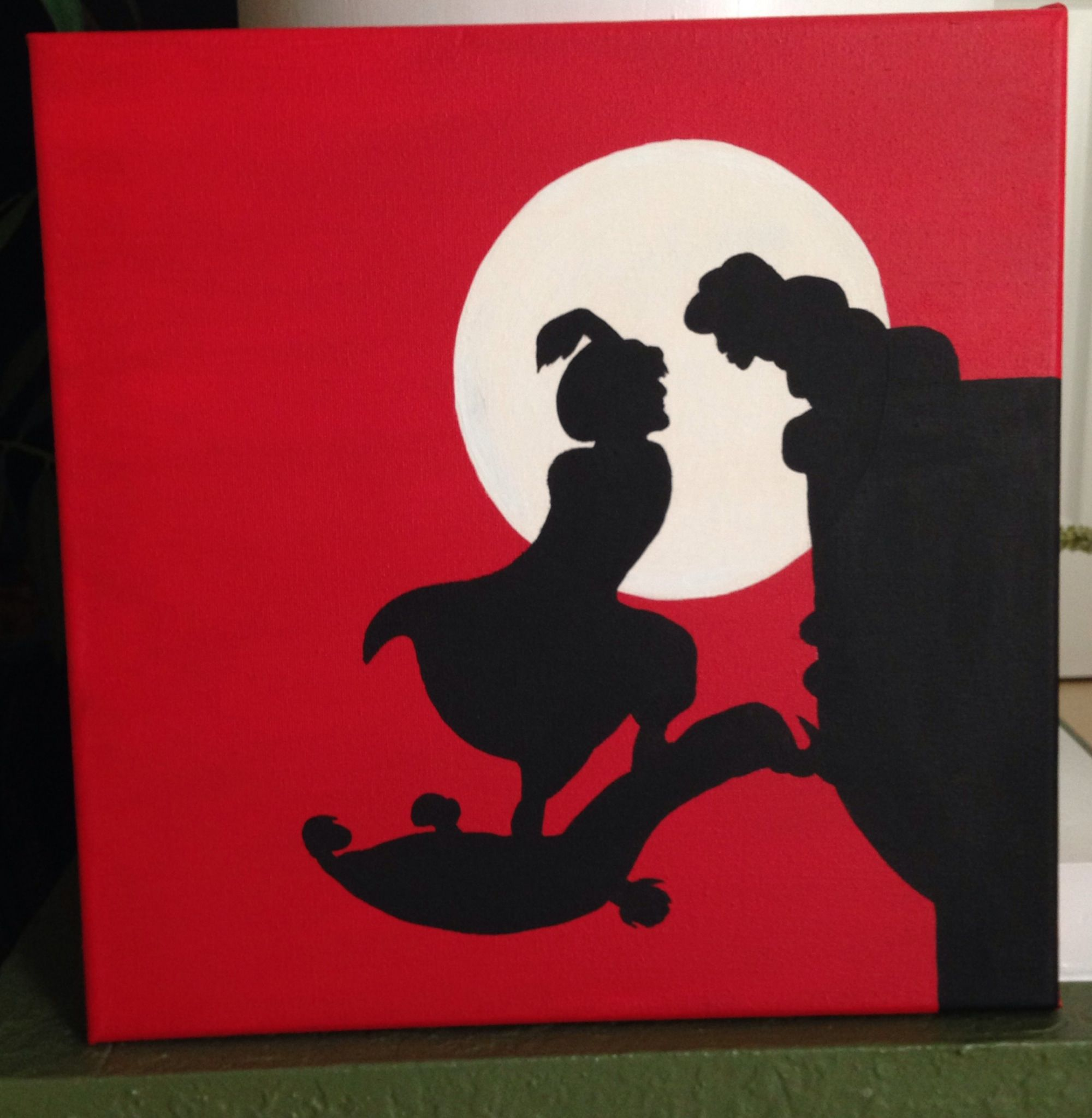Disney Crafting Aladdin And Jasmine Silhouette Disney Disney