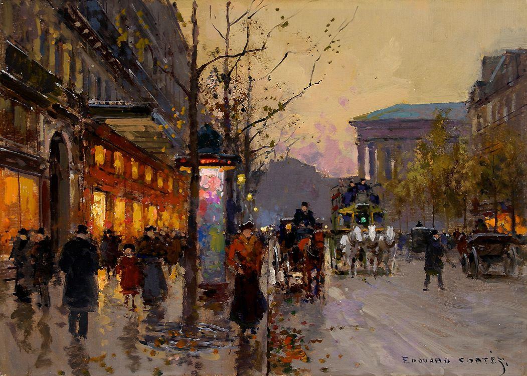 Populaire Edouard Leon Cortes (1882-1969) - Paris: Part II | Edouard Cortes  LQ09