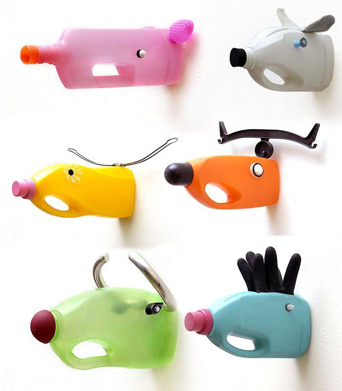 Top DIY} Recyclage créatif: des trophées d'animaux en bidons plastique  YT62