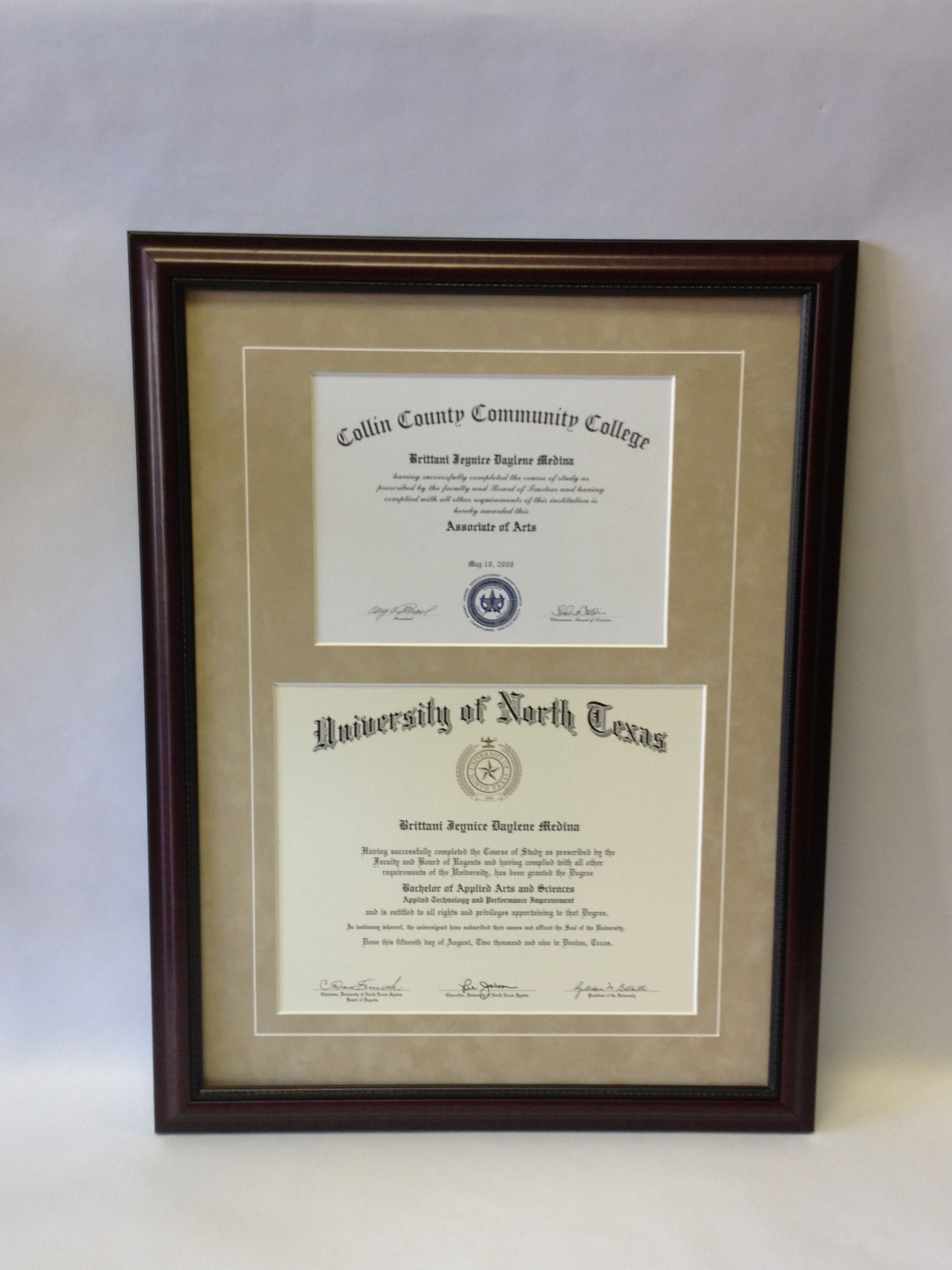 Custom Frame Order For Degrees Graduation Memories Frame Shadow Boxes