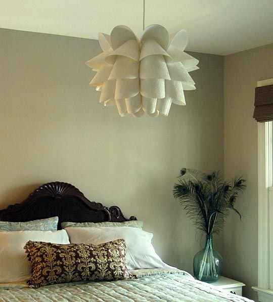 Hacked Knappa Pendant Lamp With Butterfly Embossed Paper