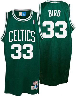 more photos 26bad dcee5 Larry Bird Jersey  adidas Green Throwback Swingman  33 Boston Celtics Jersey