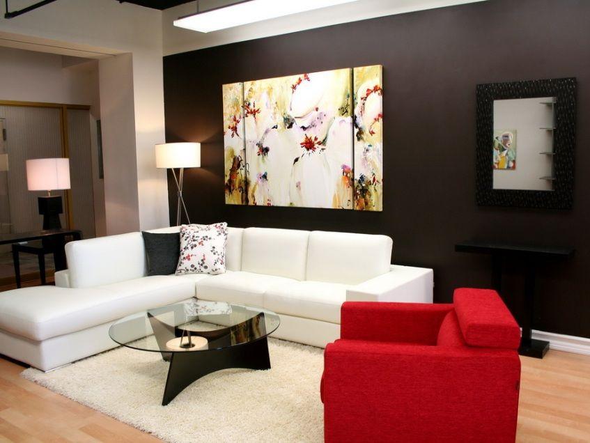 Creative Wall Paint For Minimalist House  Simple Decorating Ideas Amusing Design Living Room Minimalist 2018