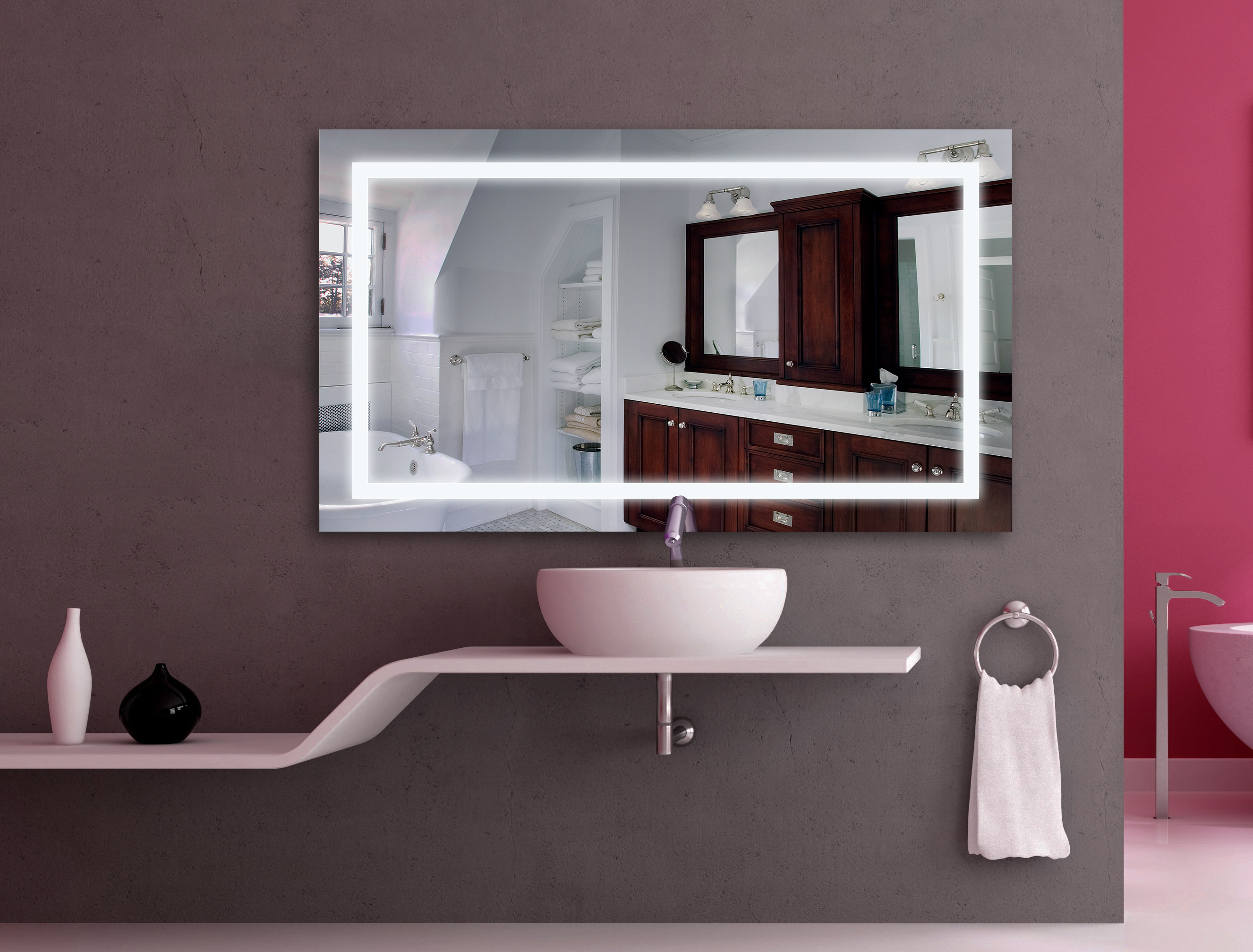 Dortmund Bathroom Lighting Mirror Bathroom
