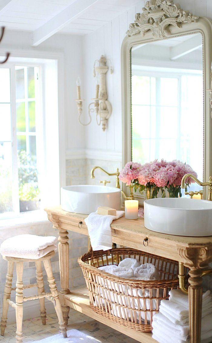 How To Install A Bathroom Vanity Country Style Bathrooms French