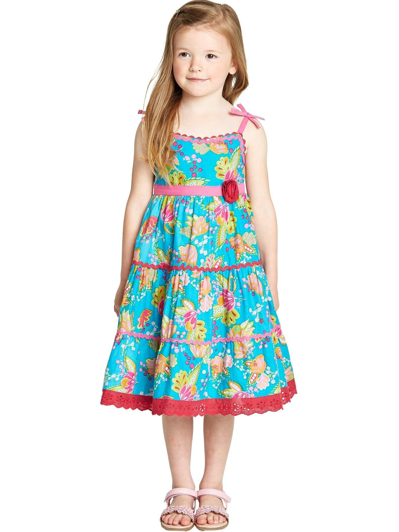 Ladybird Girls Floral Maxi Sun Dress (12 months to 7 years) | very ...