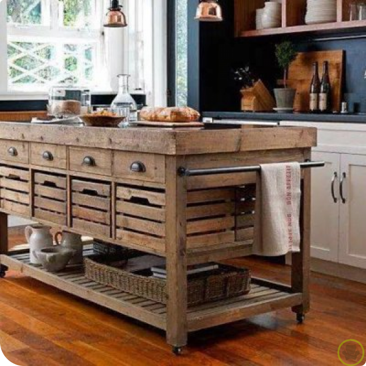 Pinlia On Franca  Pinterest  Ideas Para Kitchens And Pallets Mesmerizing Affordable Kitchen Islands 2018