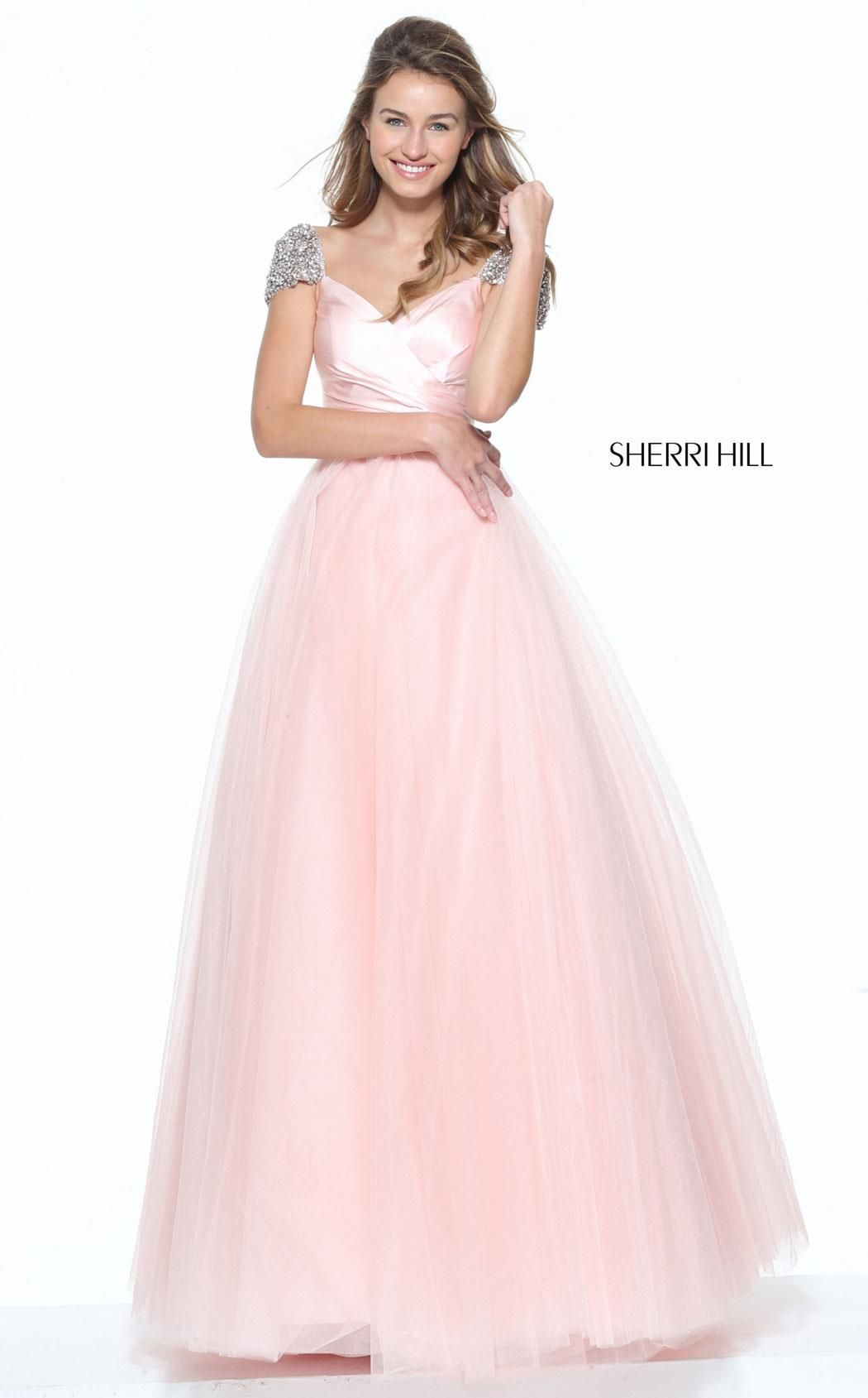 Sherri hill dress cap and gowns