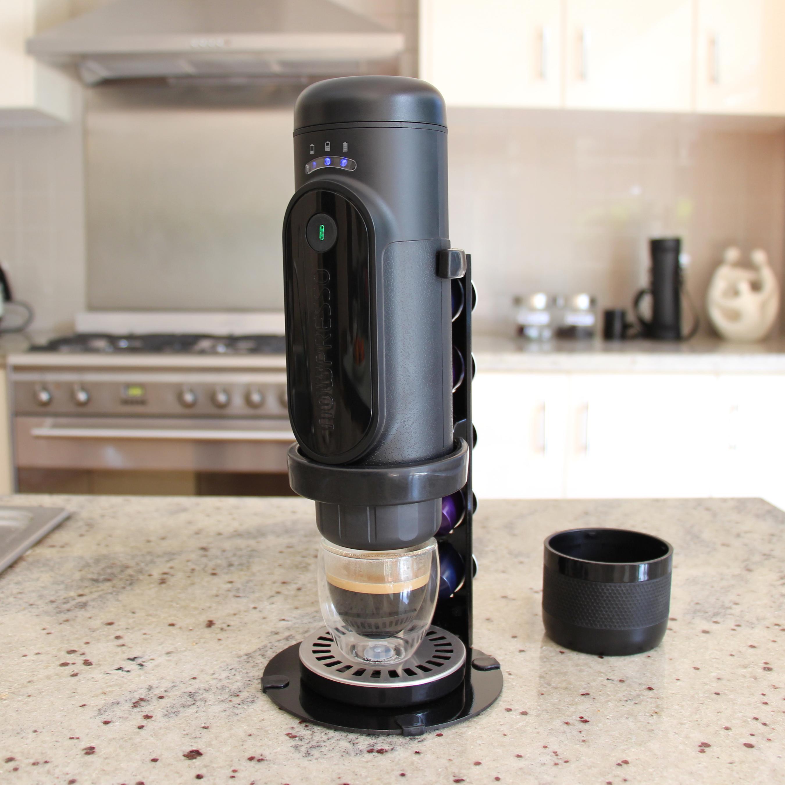 NowPresso Portable Espresso Machine Stand allows you to