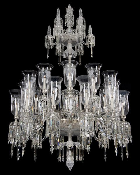 A highly unusual engraved victorian crystal chandelier things i a highly unusual engraved victorian crystal chandelier aloadofball Choice Image