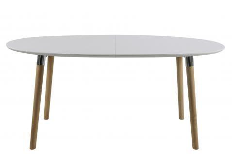 Esstisch Le Design esstisch belinda weiß matt ausziehbar 170 270 cm esszimmertisch by