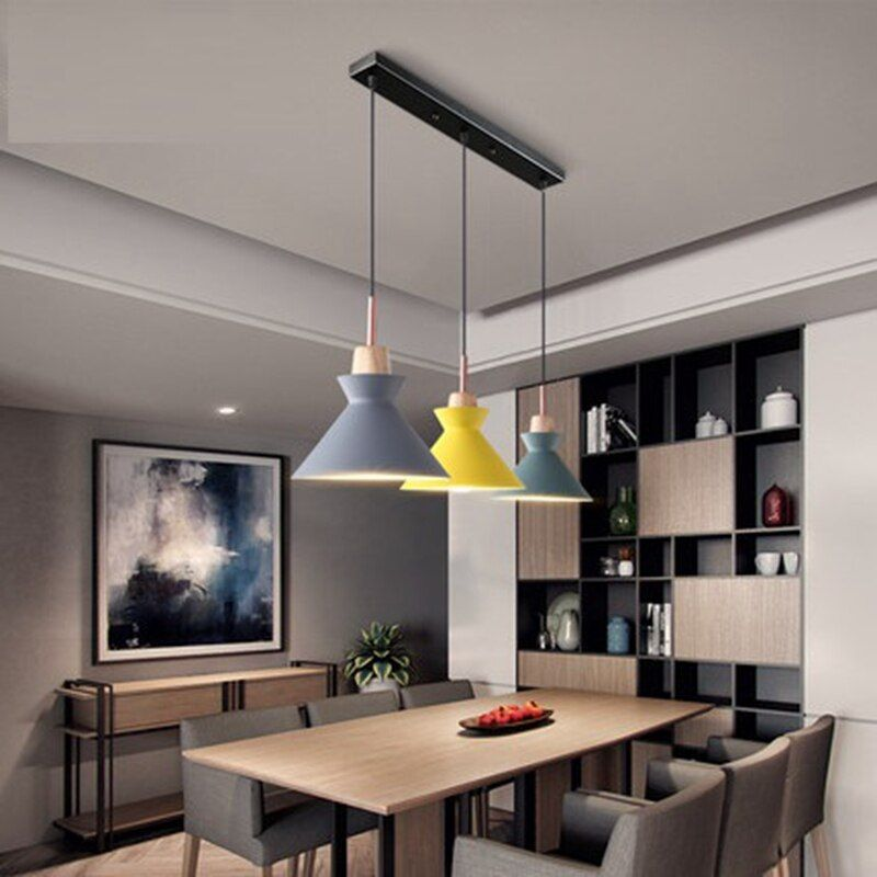 Pack Of 3 Dining Table Lamp Lights, Modern Dining Room Ceiling Light Fixtures