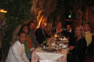 Renowned restaurant tucked in a cave once occupied by buccaneers