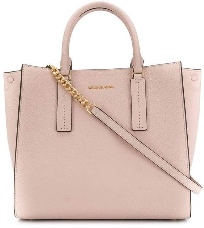 4d8c1f328acd MICHAEL Michael Kors alessa pebbled tote in 2019