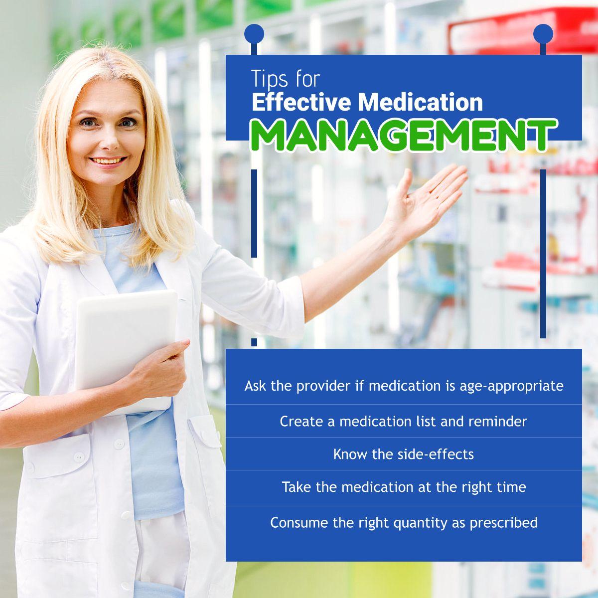 Home Medication management, Medication list, Healthcare