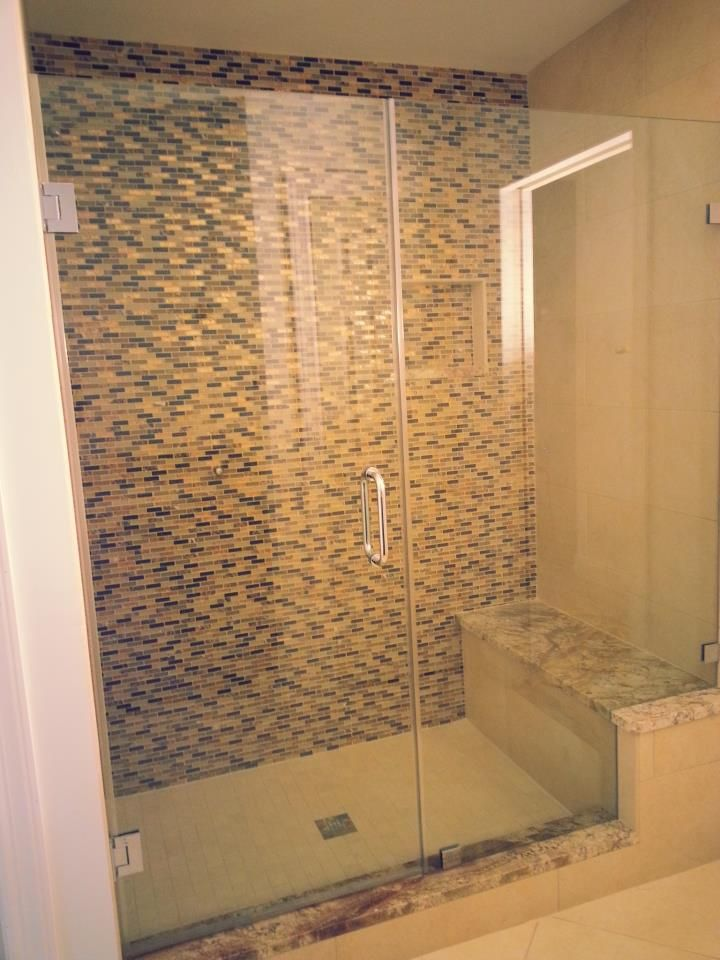 Frameless Shower Door Installed Bathroom Renovation Pinterest