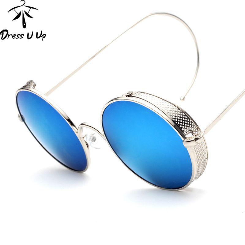 Steampunk Vintage gafas de Sol Hombres Diseñador de la Marca de gafas de Sol Redondas steampunk Coating Gafas de Sol de Las Mujeres Retro Gafas de Sol de Metal en Gafas de sol de Ropa y Accesorios de las mujeres en AliExpress.com | Alibaba Group