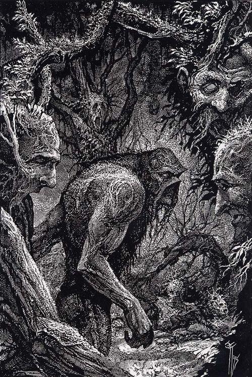 Swamp Thing by John Totleben | Monstro do Pântano | Art ...
