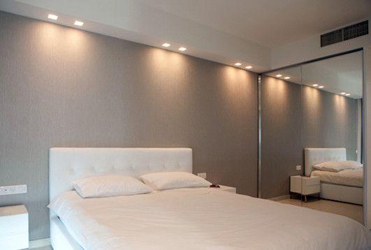 modern spot lighting. Light Over Bed, Bedroom Lighting, Colorful Ceiling Spot - Modern Lighting R