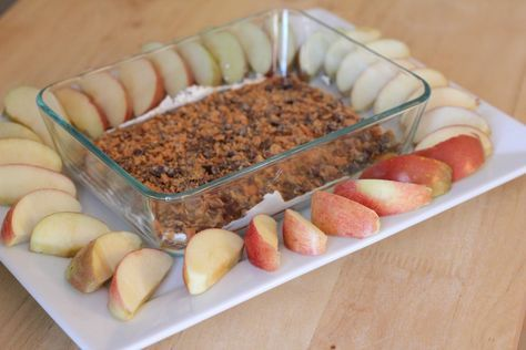 Photo of Caramel Cream Cheese Apple Dip