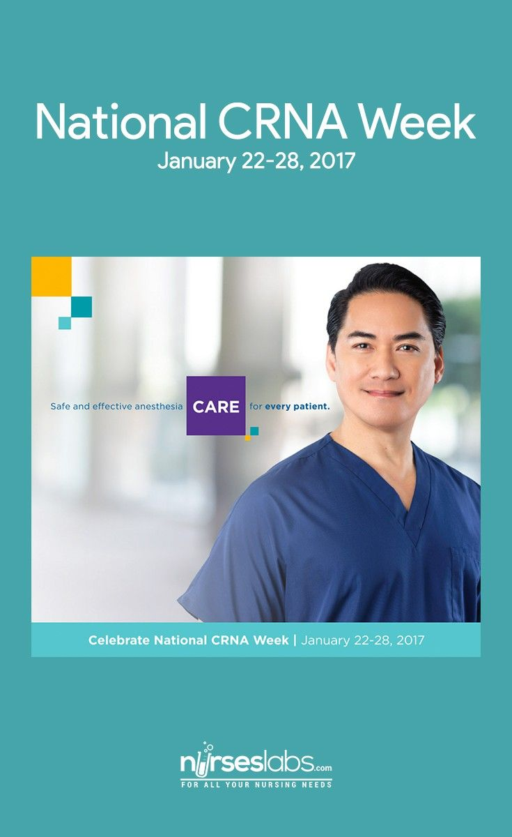 Celebrating Crna Week 2017 What Nurse Anesthetists Do Exactly