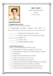 English worksheet: Temple Grandin Post Movie Activity   m ...
