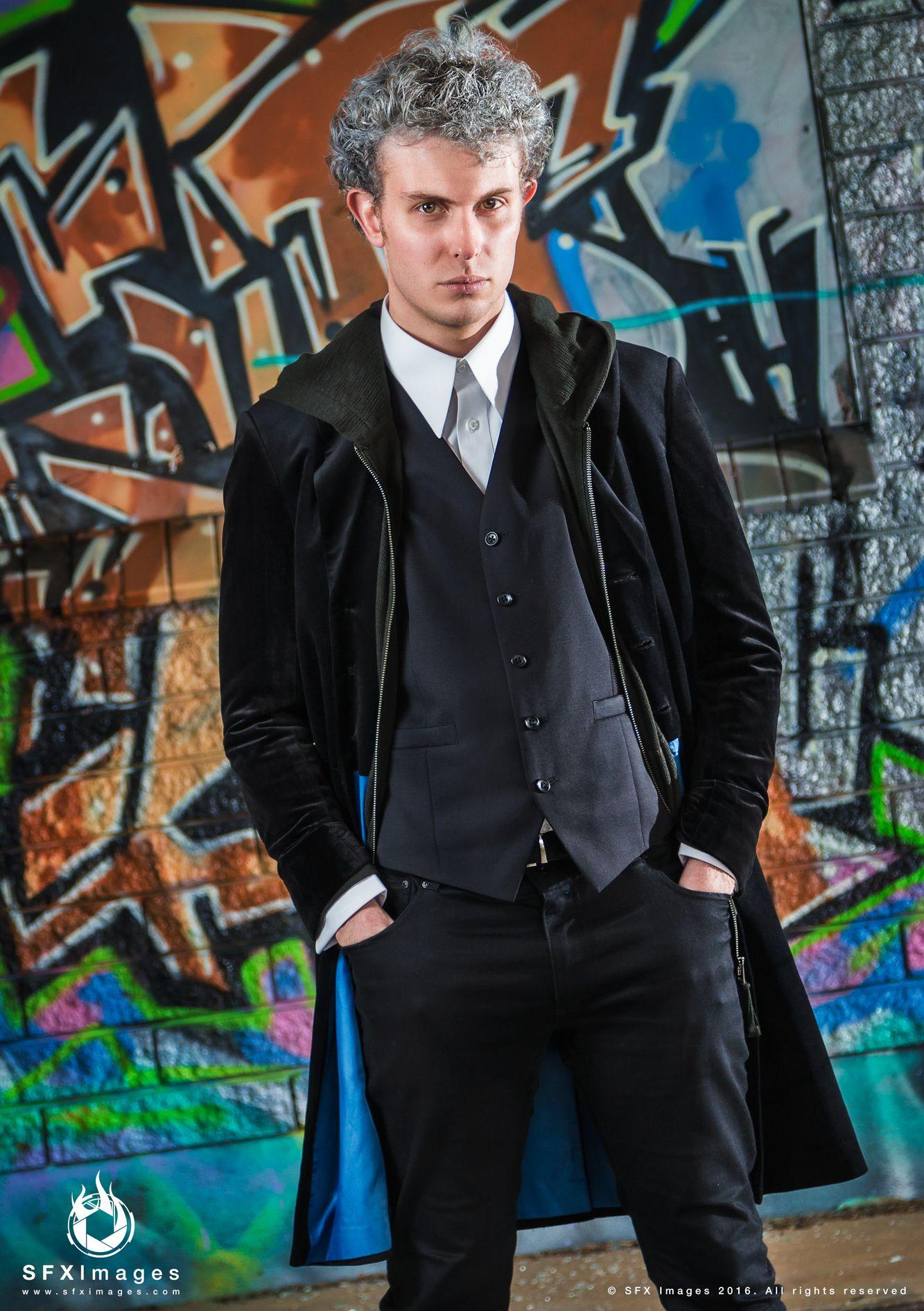 9db2a3f6ff44 Velvet Frock Coat | Doctor Whoish Fashion | Frock coat, Doctor coat ...