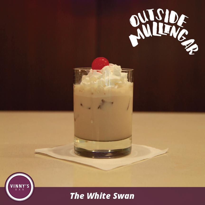 The White Swan / -1oz Bailey's Irish Cream -1oz Amaretto