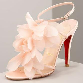 Blush pink Louboutins for Bride | Bridal Shoes | Pinterest | Blush ...