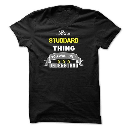 awesome STUDDARD Shirts It's STUDDARD Thing Shirts Sweatshirts | Sunfrog Shirt Coupon Code